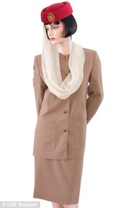 uniforme de los Emiratos