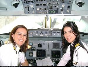 vuelo mujeres