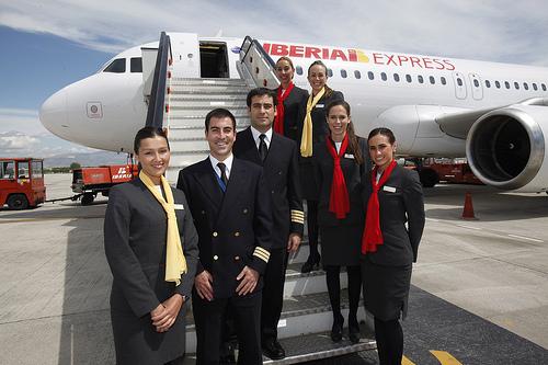 Resultado de imagen de Iberia azafatas