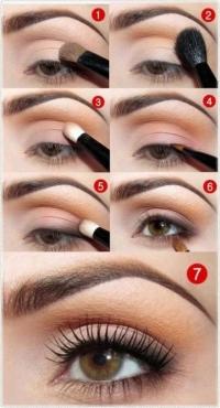 maquillaje ojos azafata