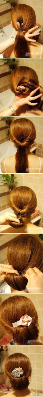 peinados azafata 1