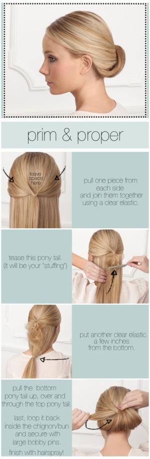 peinados azafatas 2