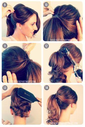 peinados azafatas 3