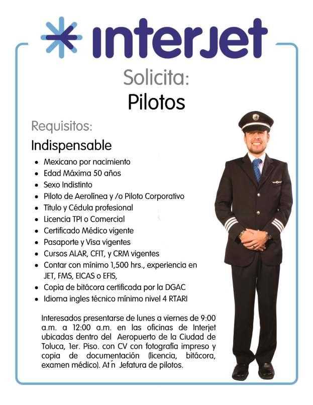 PILOTOS interjet
